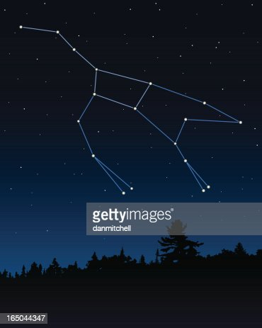 an analysis of ursa major constellation Overview ursa major is a constellation visible throughout the year in the northern hemisphere its name means great bear in latin, and is derived from the legend of callisto.