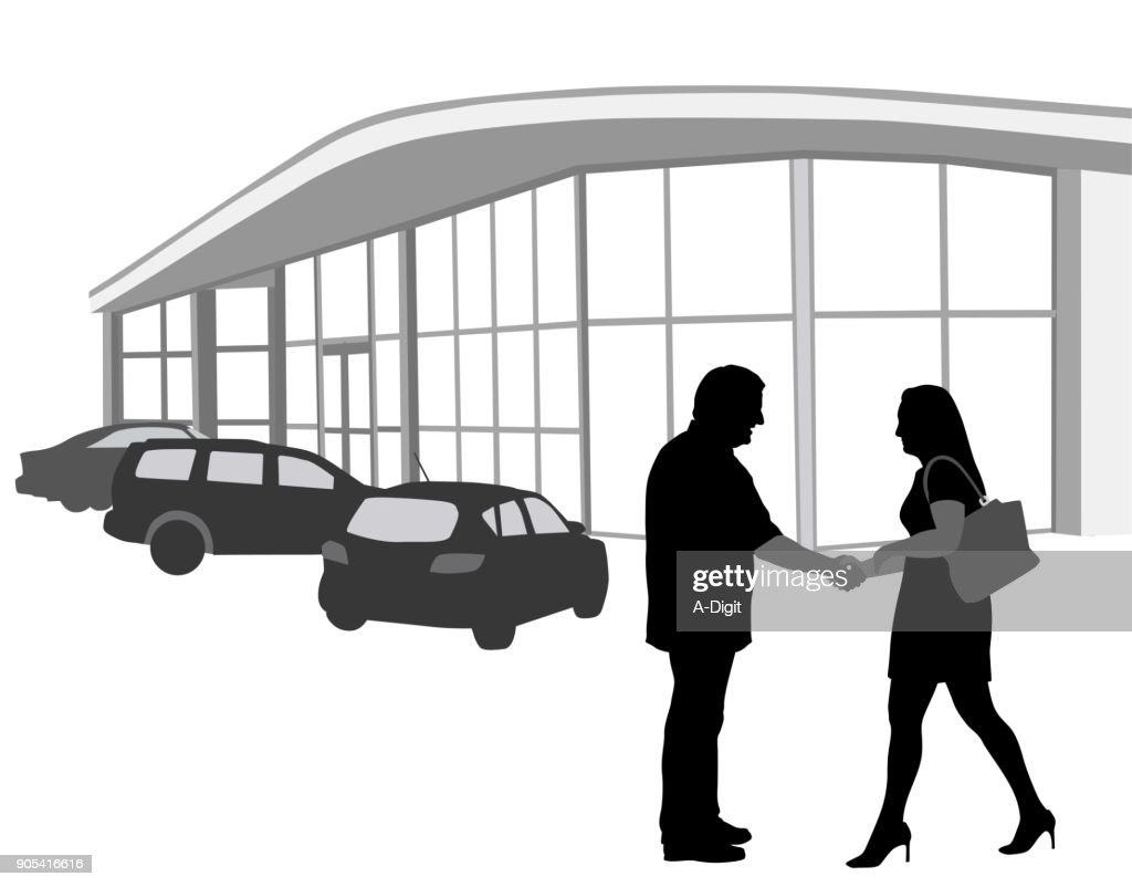 Used Car Deal : Stock Illustration