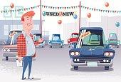 Used Car Lot Salesman