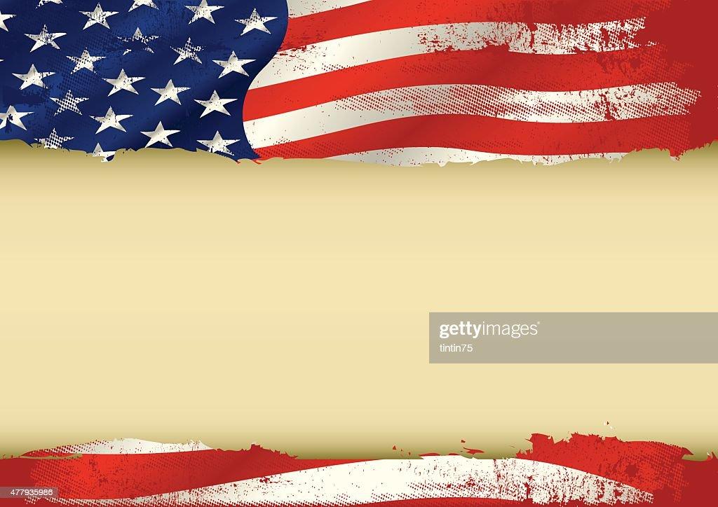 USA used flag