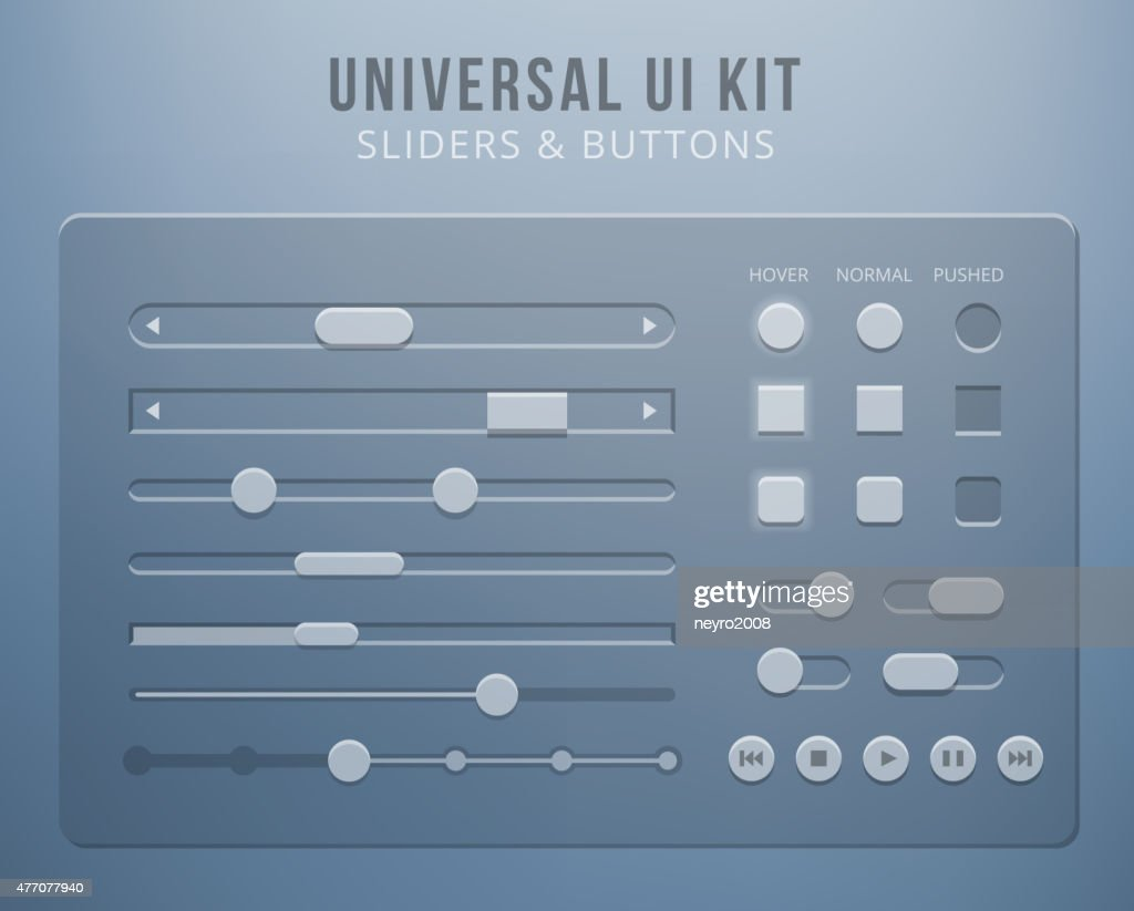 User interface elements with transparency