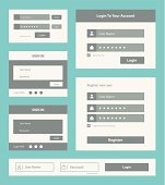User interface form set