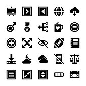 User Interface Pack Of Icons
