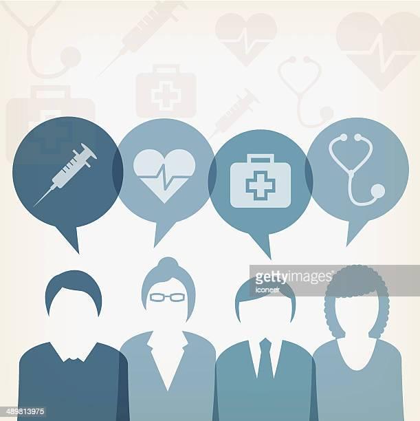 ユーザーと医療泡 - ウェブ2.0点のイラスト素材/クリップアート素材/マンガ素材/アイコン素材