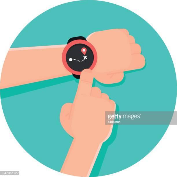 Using Navigation App on a Smart watch