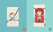 using the car seat for a baby