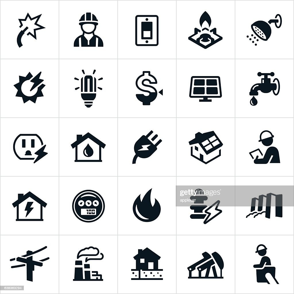 Utilities Icons