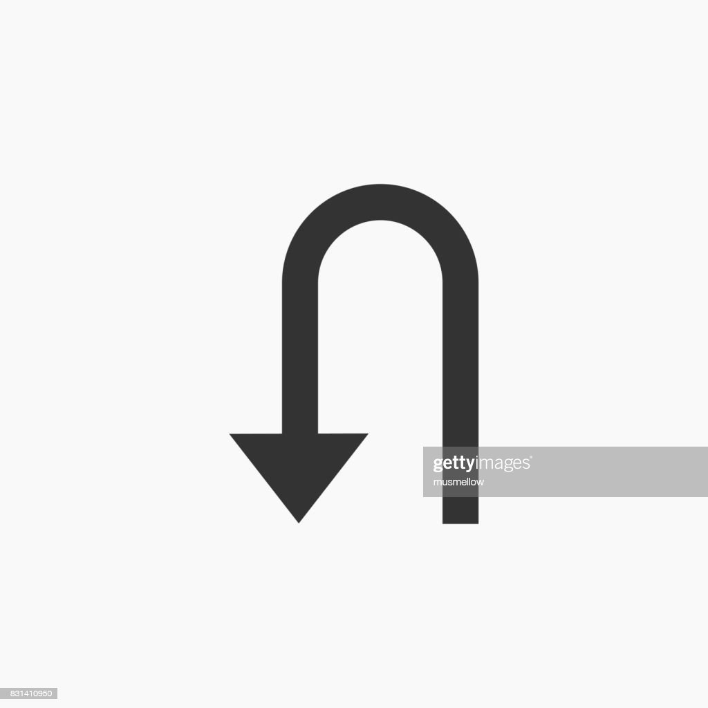 U-Turn icon