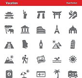 Vacation Icons - Set 1