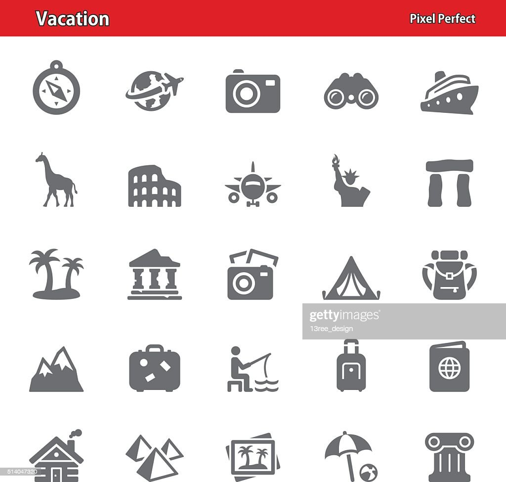 Vacation Icons - Set 2