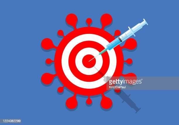 予防 接種 - ウイルス感染点のイラスト素材/クリップアート素材/マンガ素材/アイコン素材