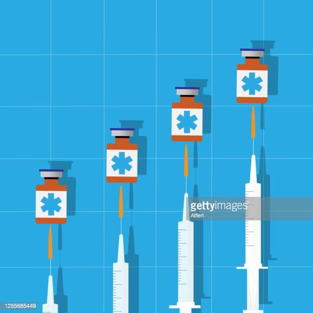 impfstoff - gipfeltreffen stock-grafiken, -clipart, -cartoons und -symbole