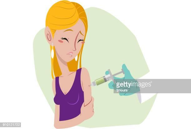 Vacinando、女性