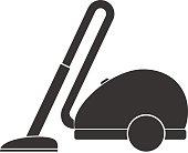 Vacuum cleaner, vacuum cleaner icon.