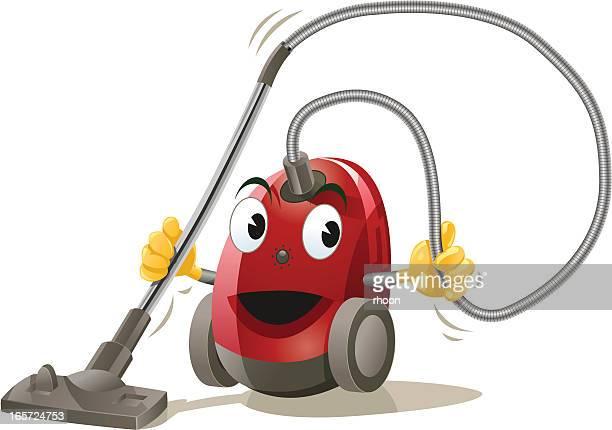 vacuum cleaner - vacuum cleaner stock illustrations, clip art, cartoons, & icons