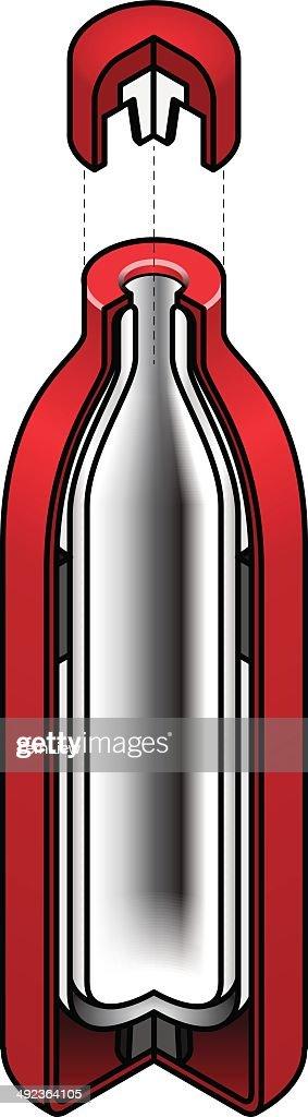 Vacuum Flask Diagram