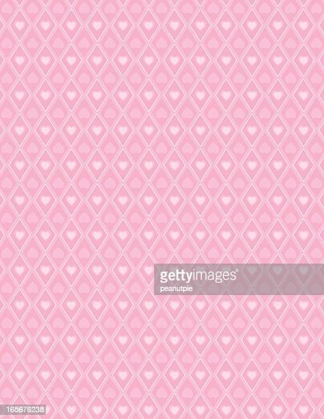 Valentine Diamond Pattern