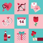 Valentine Flaticon Set