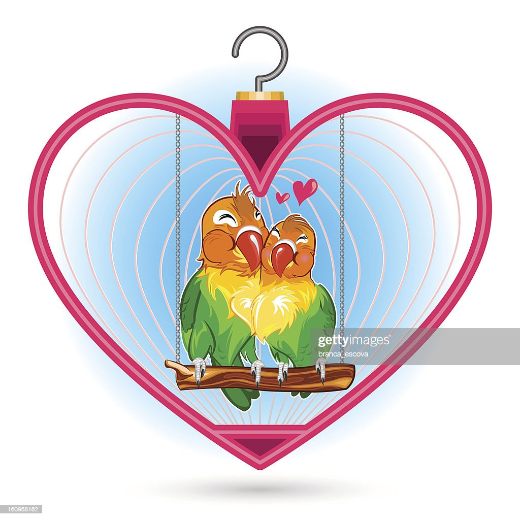 Valentine Love Bird