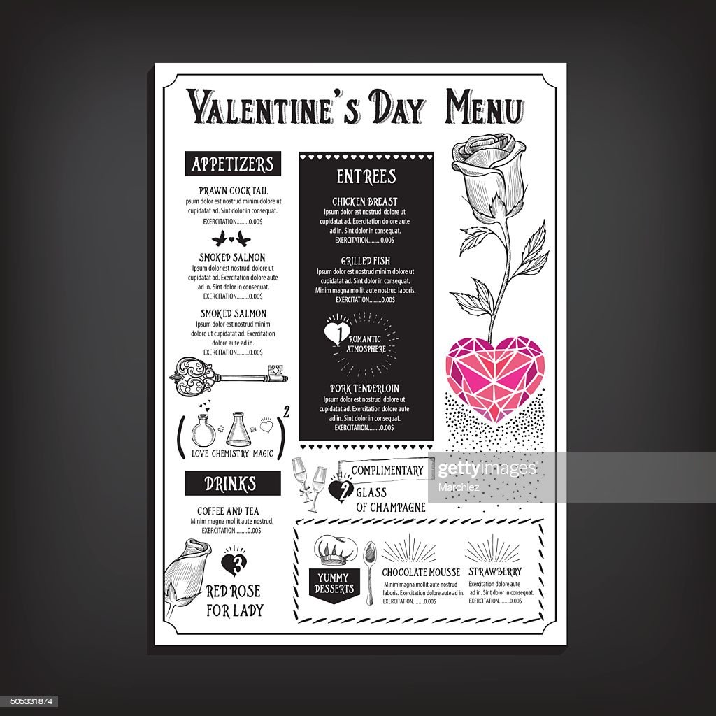 Valentine party invitation restaurant vector art getty images valentine party invitation restaurant vector art stopboris Images