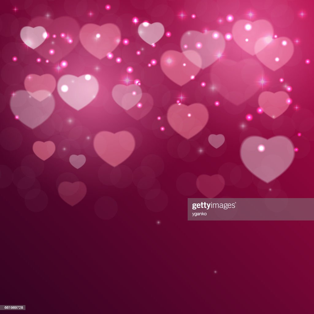 Valentine S Day Heart Symbol Love And Feelings Background Desig