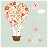 Valentine s day or wedding card