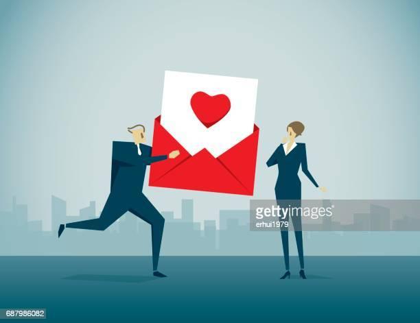 valentine - work romance stock-grafiken, -clipart, -cartoons und -symbole