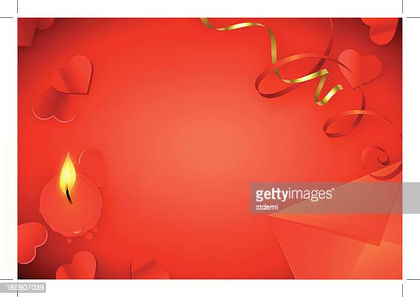 valentine's background - love letter stock illustrations, clip art, cartoons, & icons