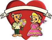 Valentine's cutie bears