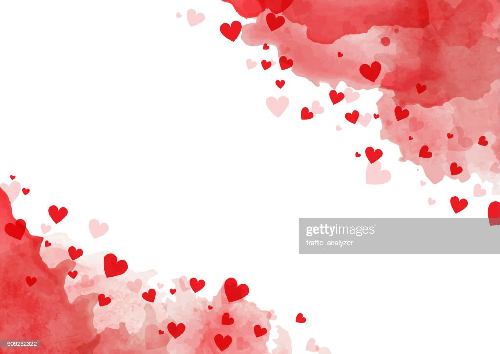 Valentine's Day background : stock illustration