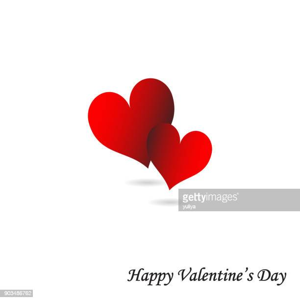 valentine's day card red hearts with white background wedding mother's day - mothers day text art stock illustrations
