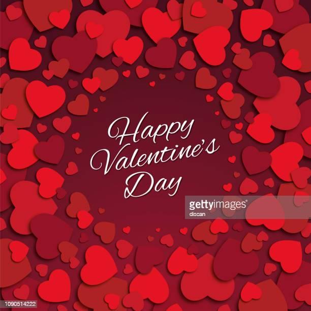 valentine's day card. - valentine card stock illustrations