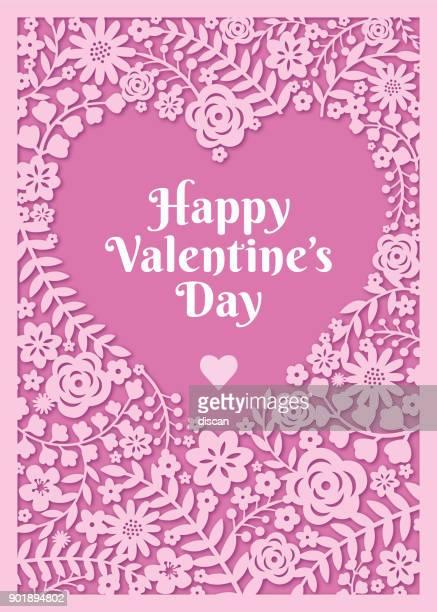 ilustraciones, imágenes clip art, dibujos animados e iconos de stock de tarjeta del día de san valentín - carta de amor