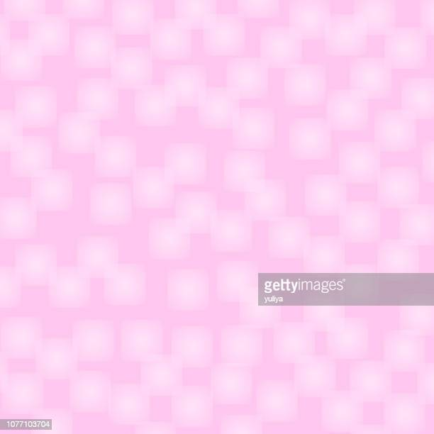 valentine's day card with pink background and squares - pink background stock illustrations, clip art, cartoons, & icons