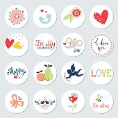 Valentines Day Circles Design Se
