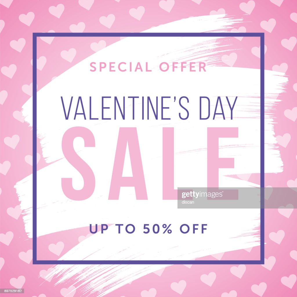 Valentine's Day design for advertising, banners, leaflets and flyers. : Vector Art