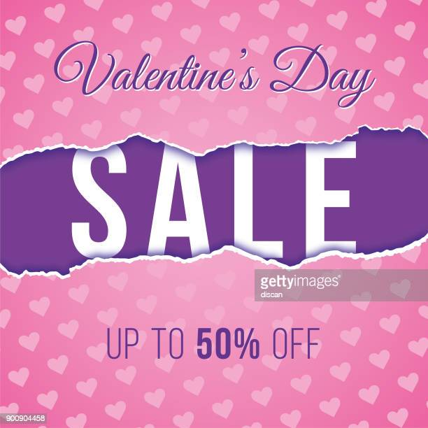valentine's day design for advertising, banners, leaflets and flyers. - valentine' day stock illustrations