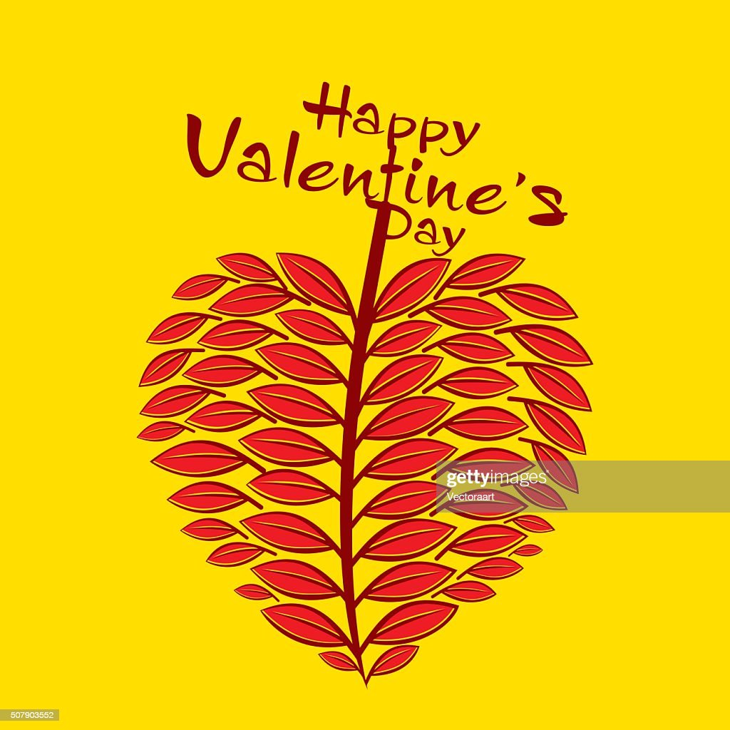 valentine's day greeting card design