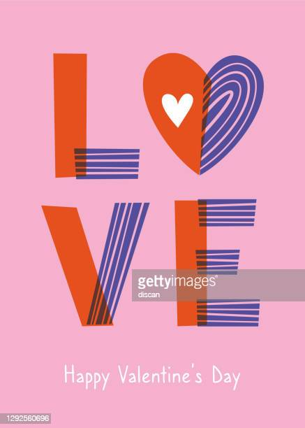 valentine's day greeting card with hearts. - gift tag note stock illustrations