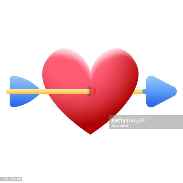 Valentinstag Herz-Form-Symbol
