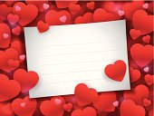 Valentine's Day Note Card
