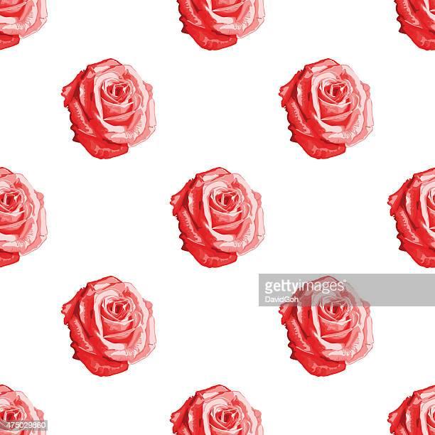 Valentine's Day Rose Pattern
