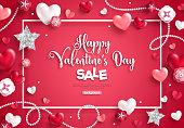 valentine's day sale frame
