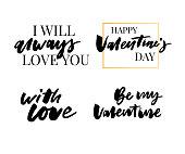Valentine's Day set Fashion slogan print. Grunge slogan print. Newyork slogan print. Trendsetter slogan print.