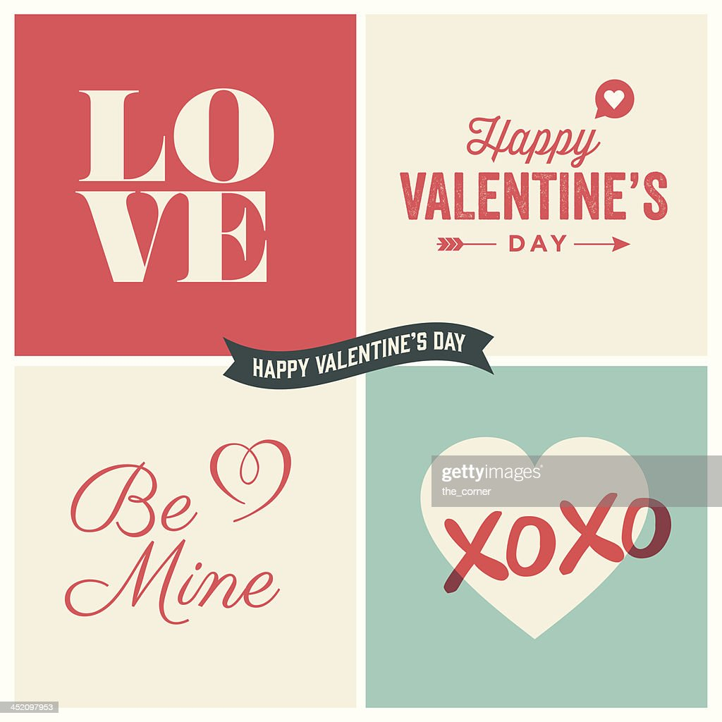 Valentine's day vector design element