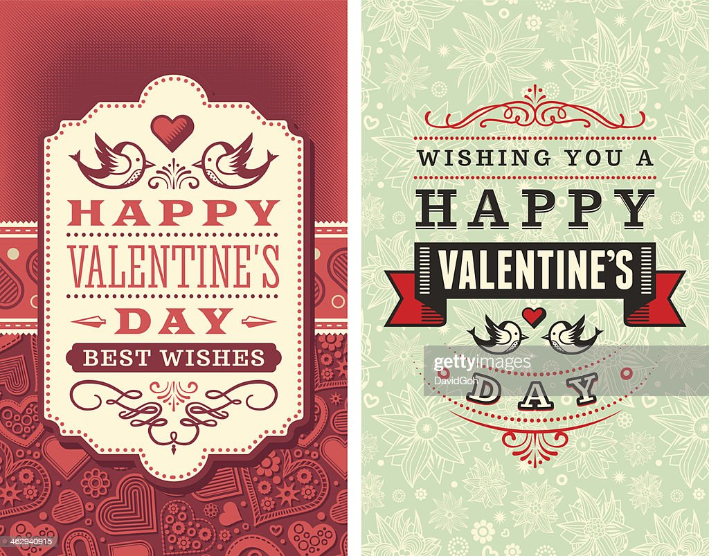 Valentine's Day Wishes : Vector Art