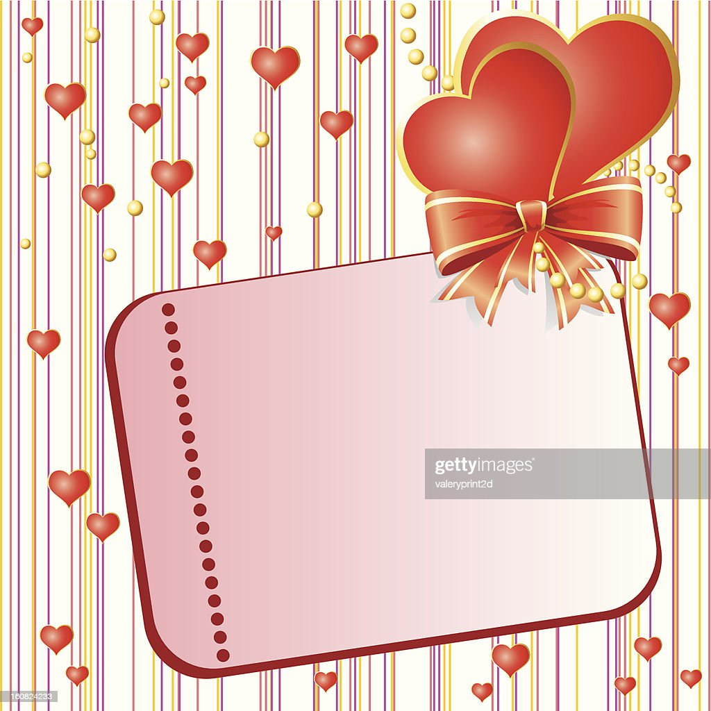 Valentins Day card