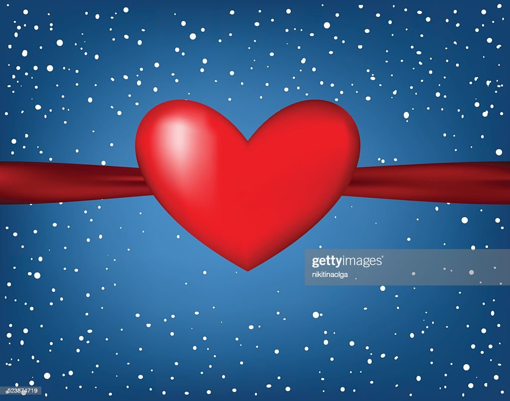 Valentin`s Day card,