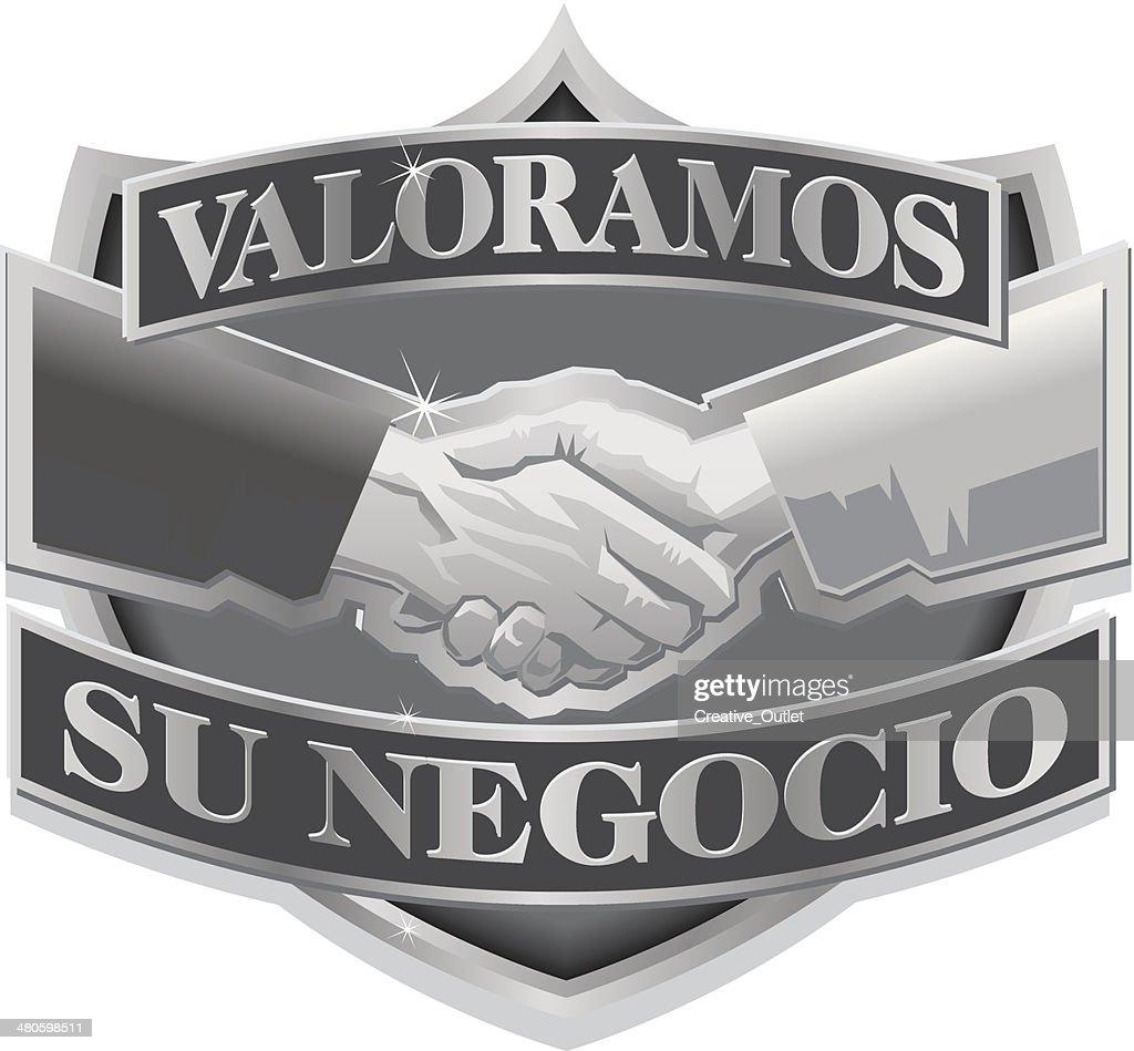 Valoramos Heading : Vector Art