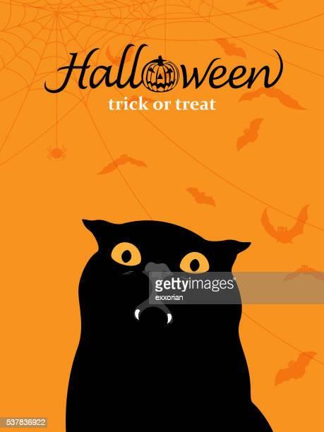 illustrations, cliparts, dessins animés et icônes de vampire noir - chat noir